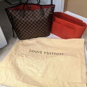 Louis Vuitton Bags - Authentic Louis Vuitton Neverfull MM Damier Ebene